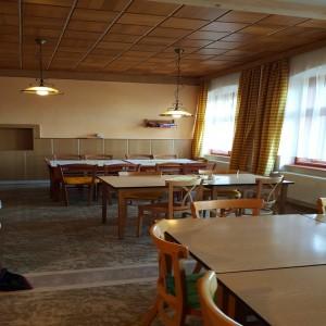 Společenská místnost- Penzion Jitřenka Šumava